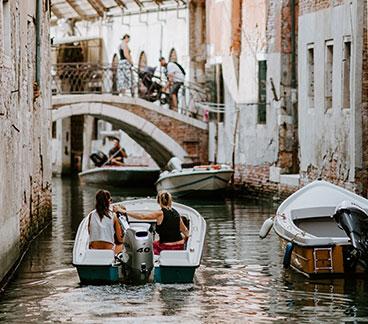 Tour durch Venedig